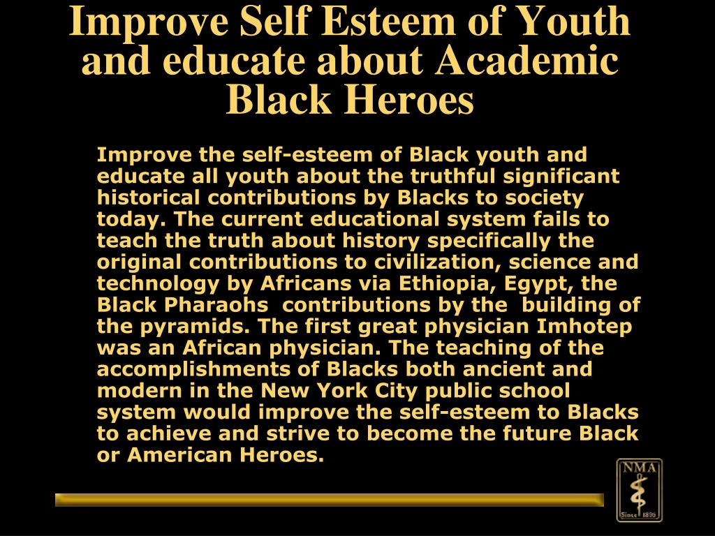 Improve Self Esteem of Youth and educate about Academic