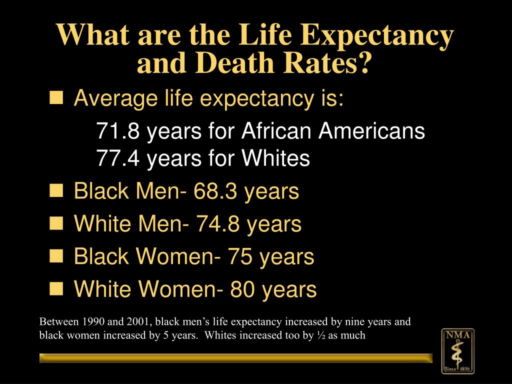 What are the Life Expectancy and Death Rates?