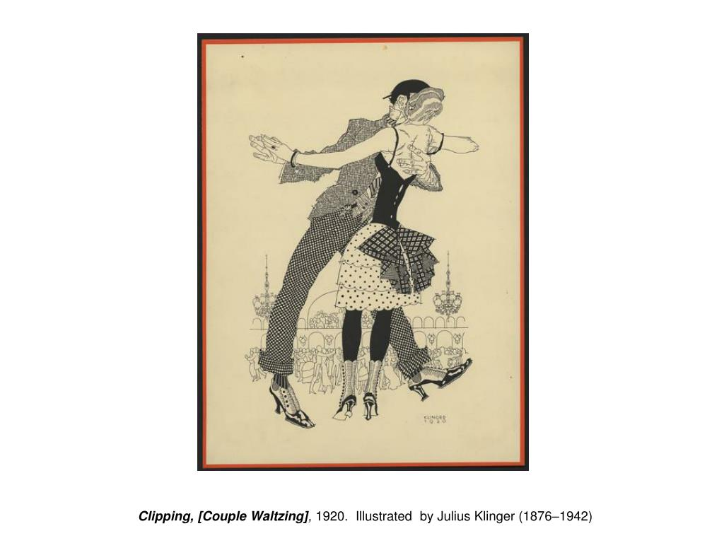 Clipping, [Couple Waltzing]