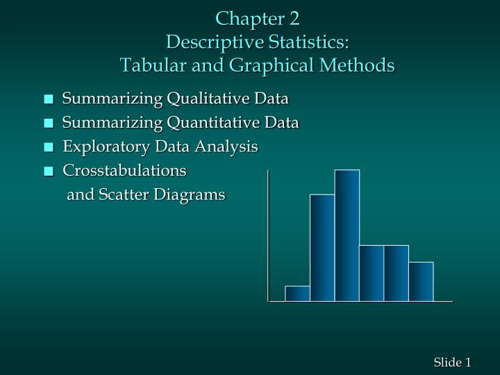Chapter 2 descriptive statistics tabular and graphical methods l.jpg