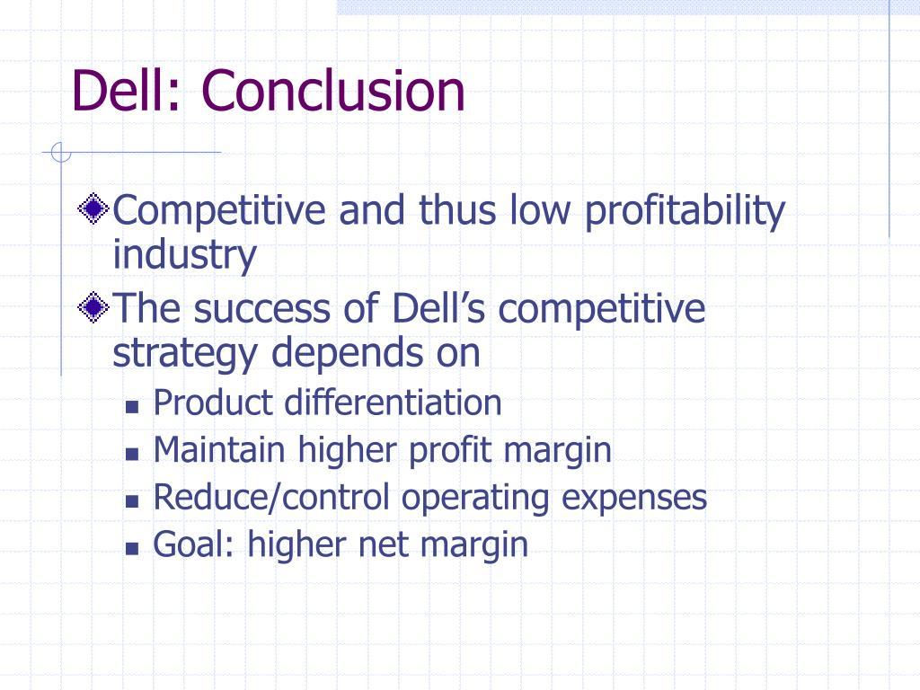 Dell: Conclusion