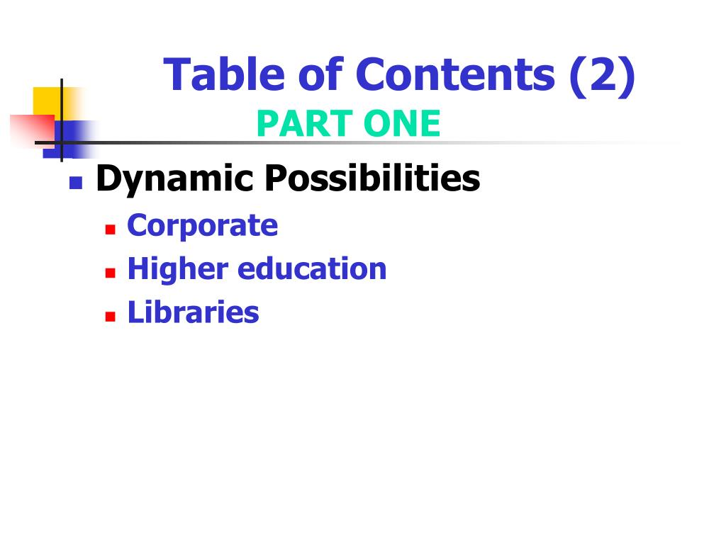 Table of Contents (2)