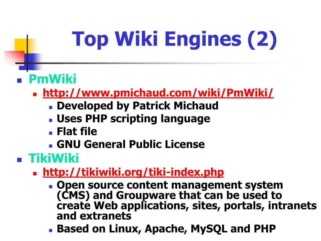 Top Wiki Engines (2)