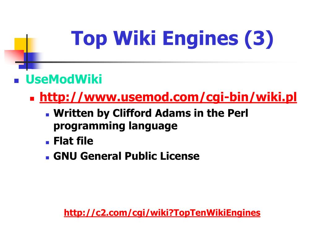 Top Wiki Engines (3)