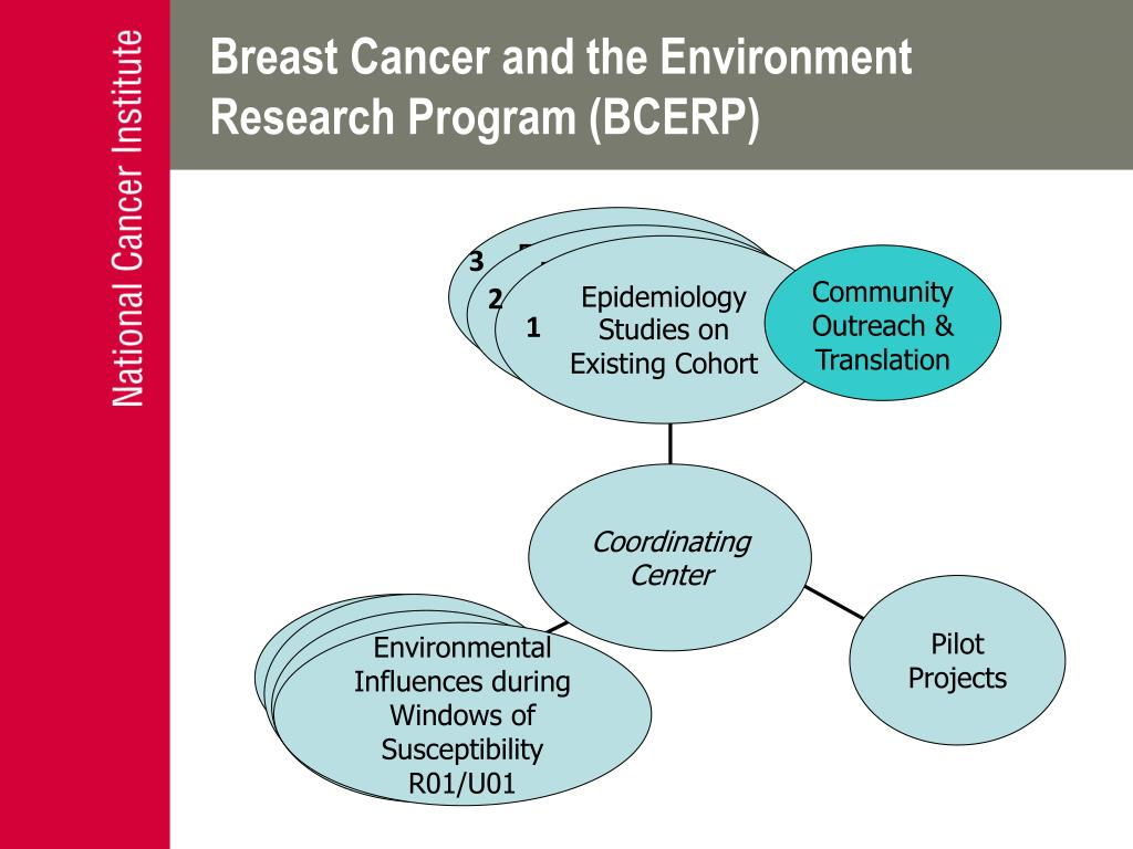 Breast Cancer and the Environment Research Program (BCERP)