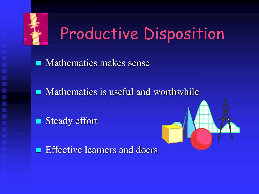 Productive Disposition