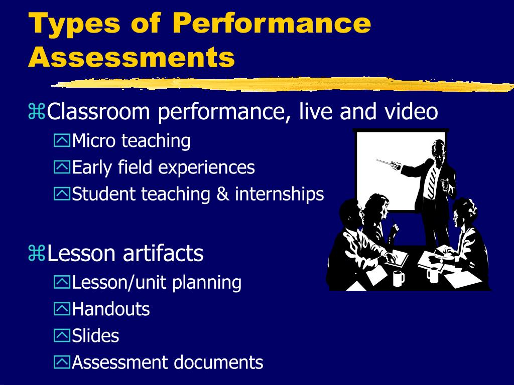 Types of Performance Assessments