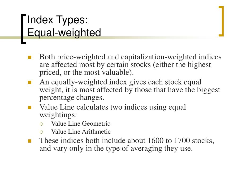 Index Types: