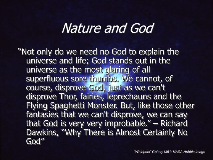 Nature and god2