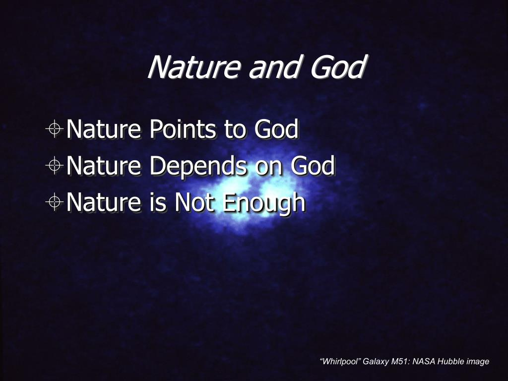 Nature and God
