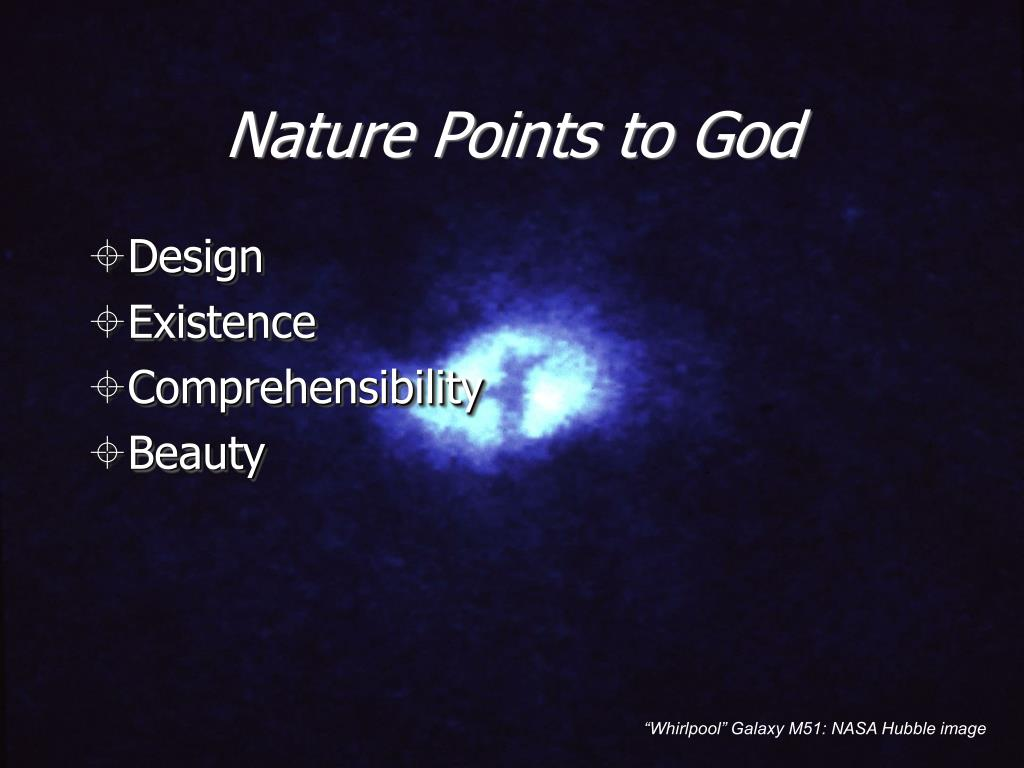 Nature Points to God
