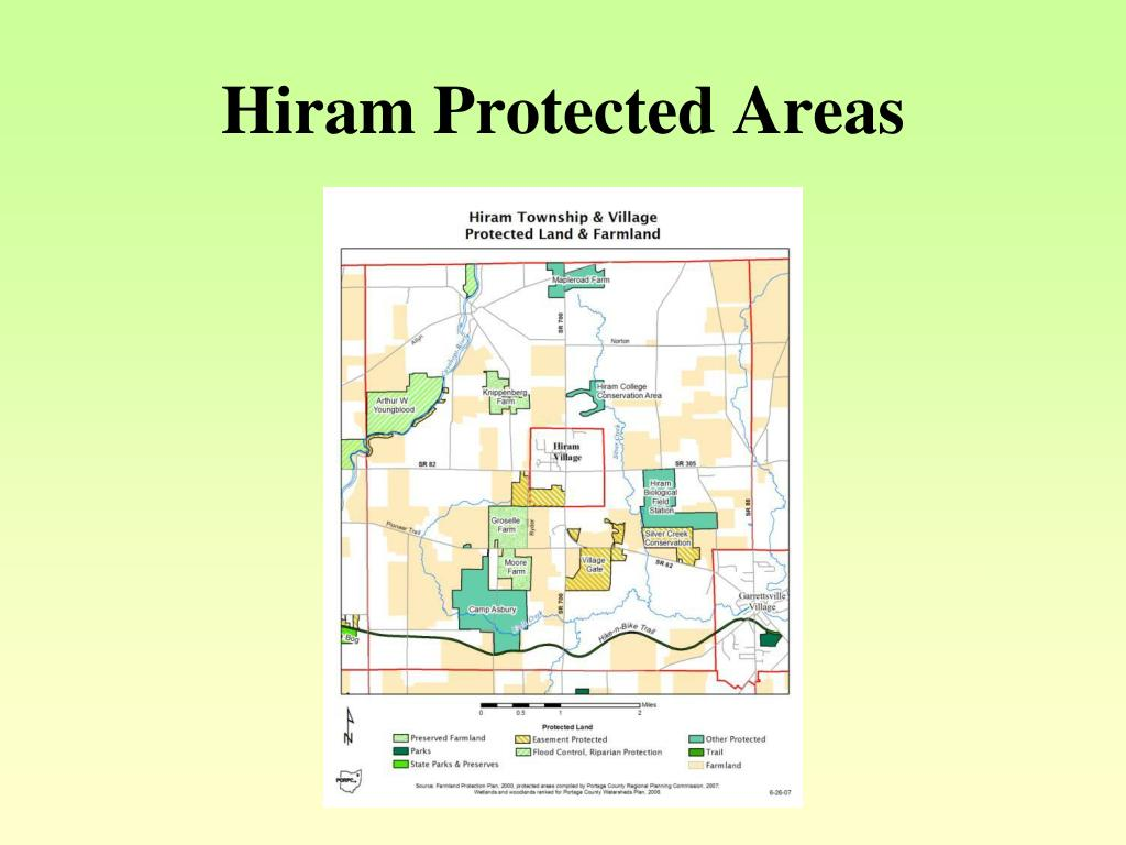 Hiram Protected Areas