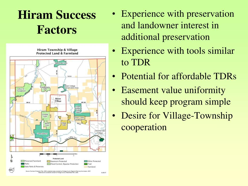 Hiram Success Factors