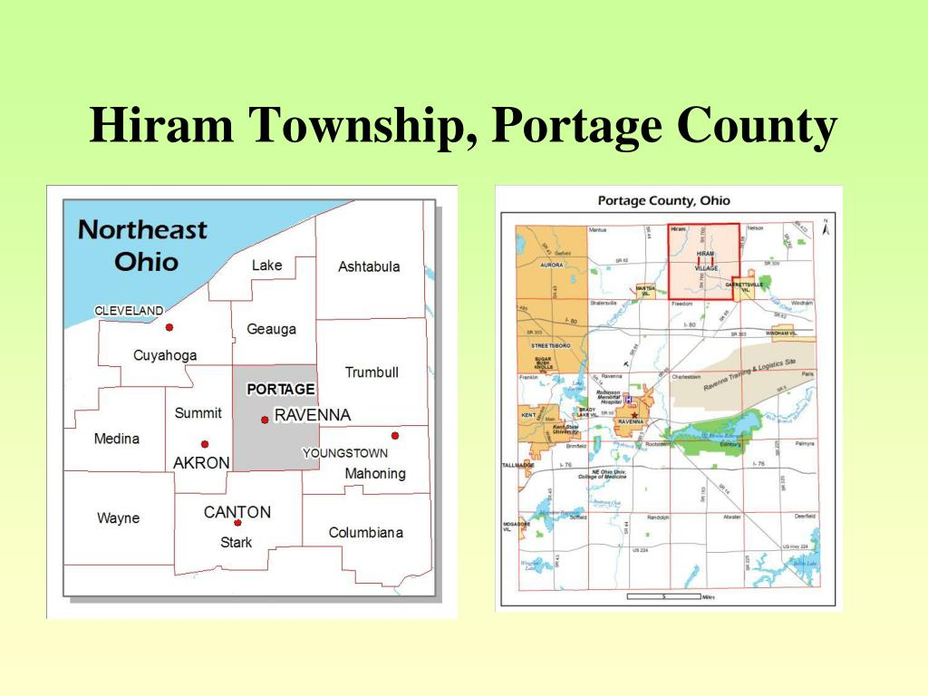 Hiram Township, Portage County