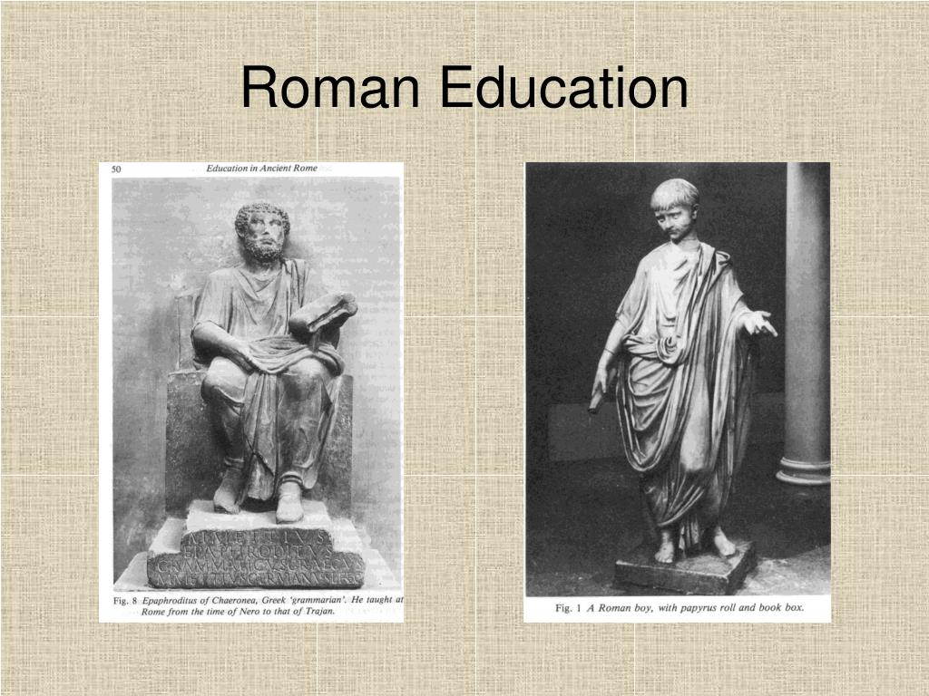 Roman Education