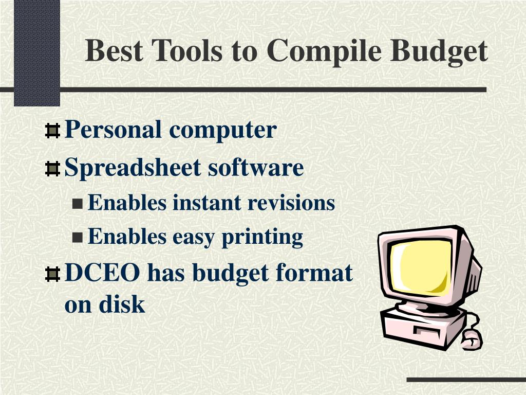 Best Tools to Compile Budget
