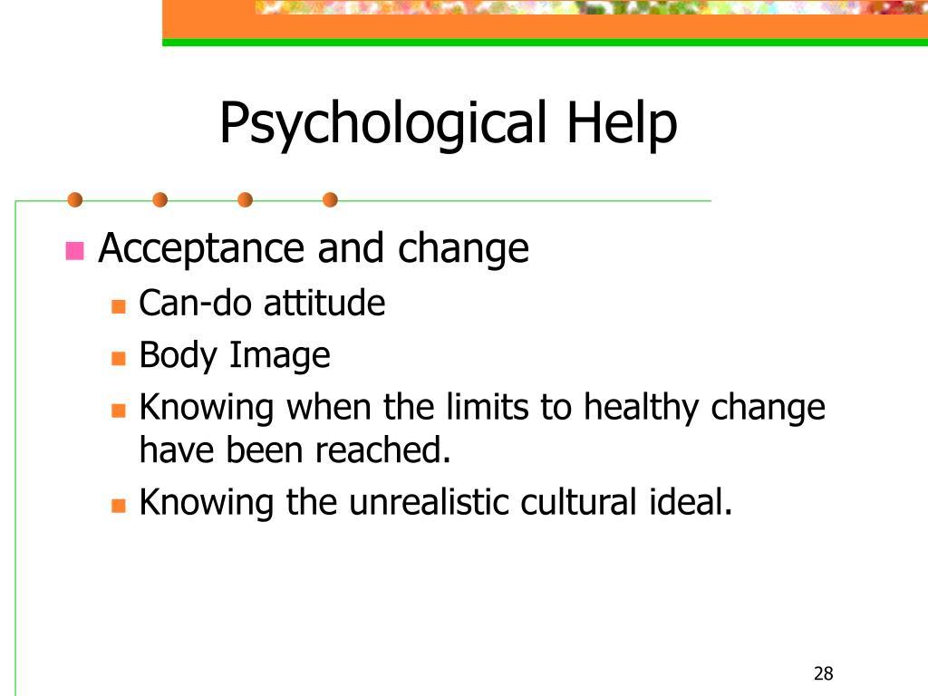 Psychological Help