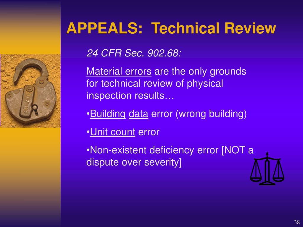 24 CFR Sec. 902.68: