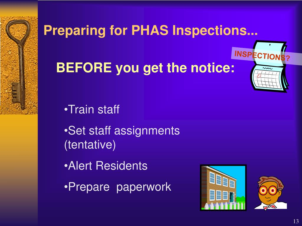 INSPECTIONS?