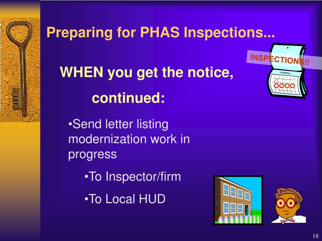 INSPECTIONS!!