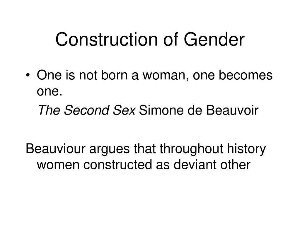 Construction of Gender