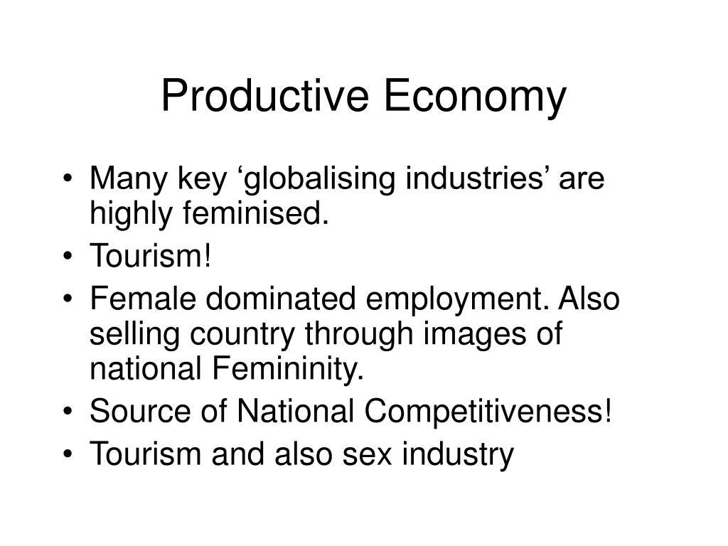 Productive Economy