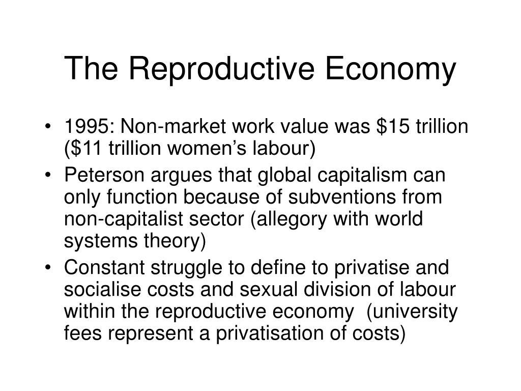 The Reproductive Economy