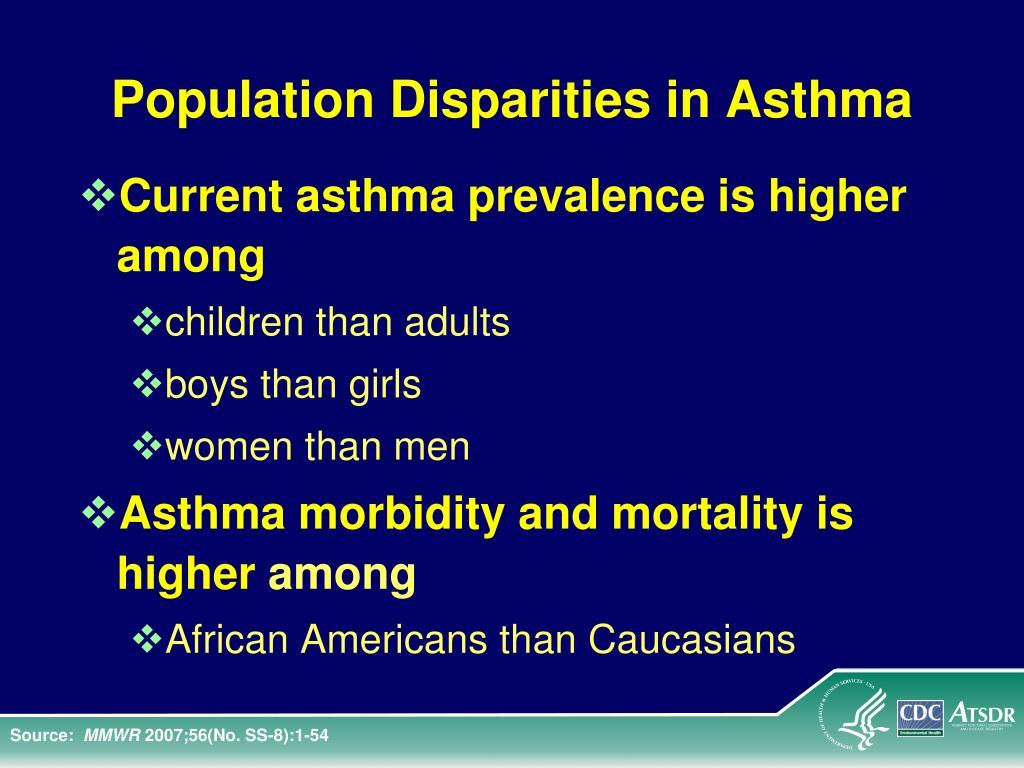 Population Disparities in Asthma