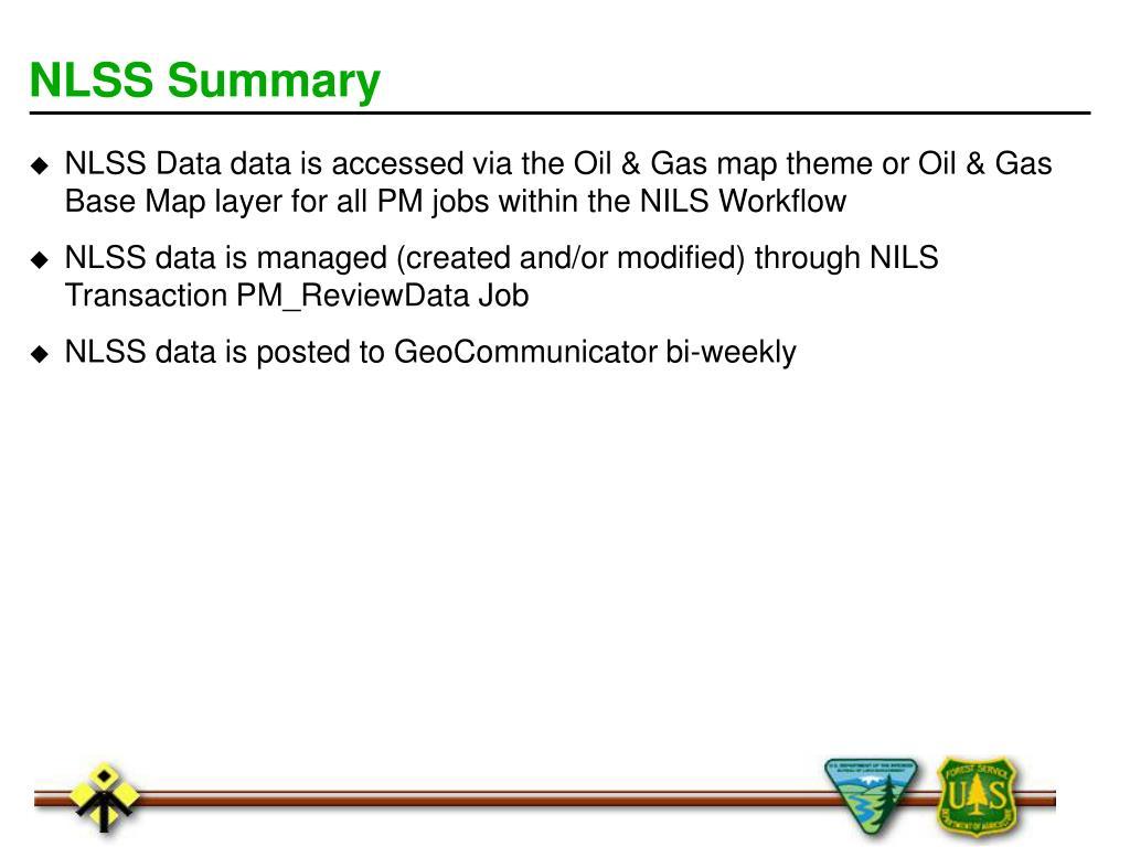 NLSS Summary