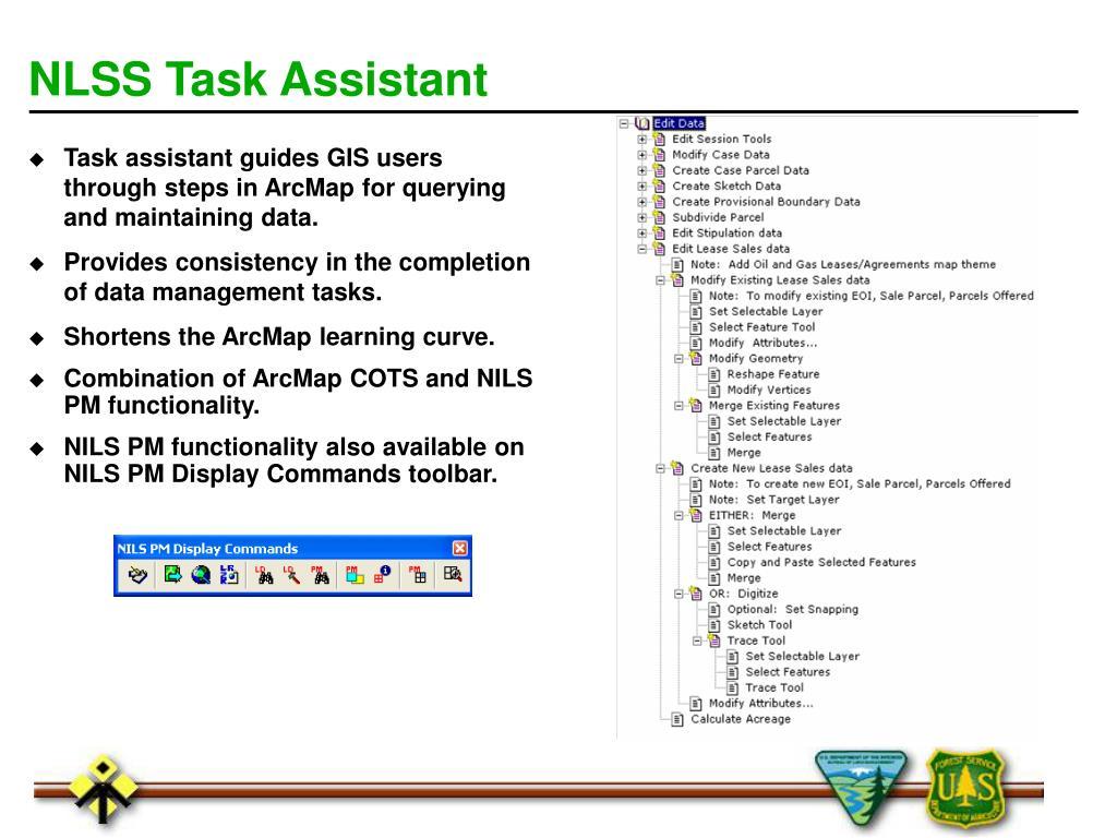 NLSS Task Assistant