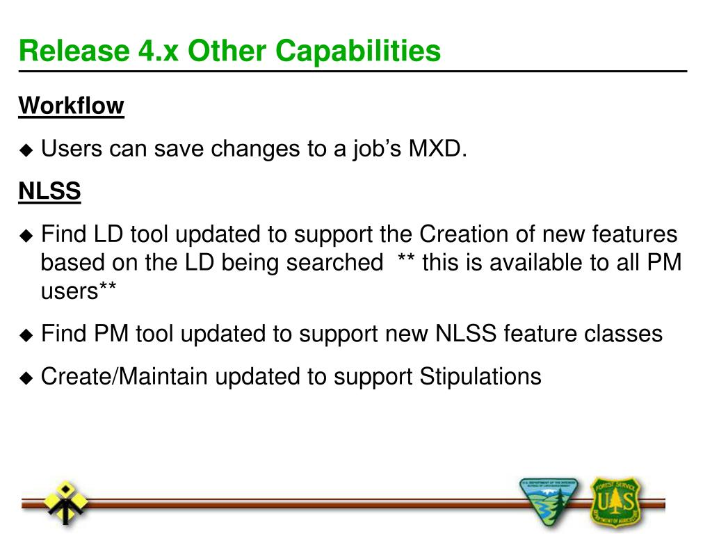 Release 4.x Other Capabilities