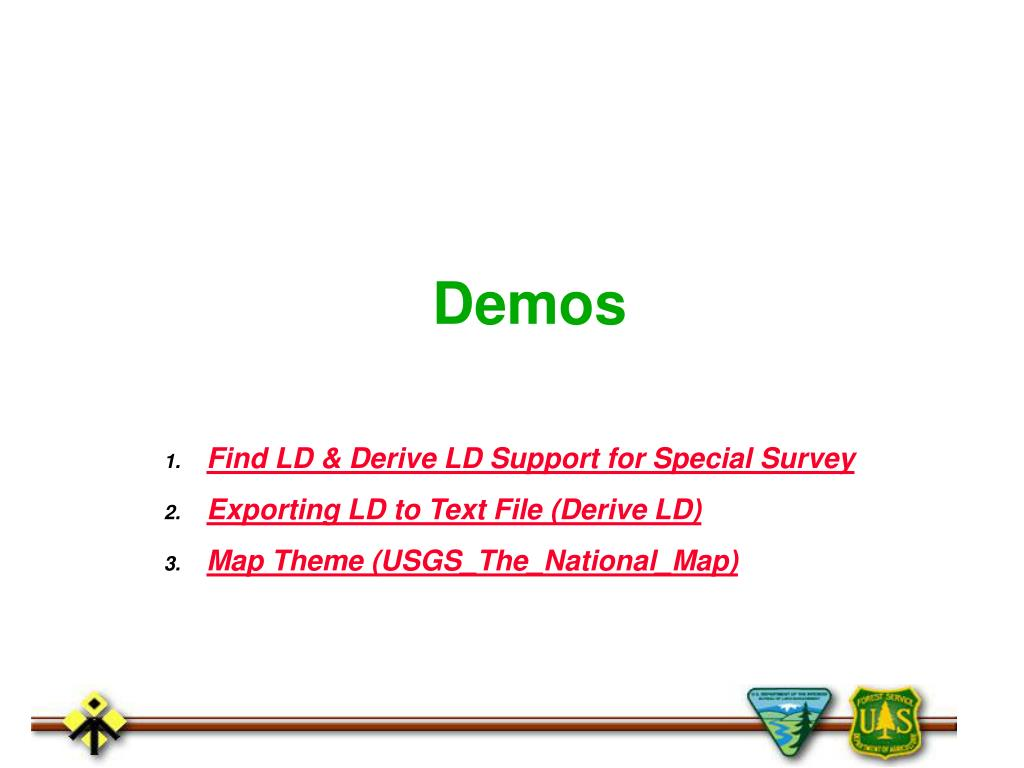 Find LD & Derive LD Support for Special Survey