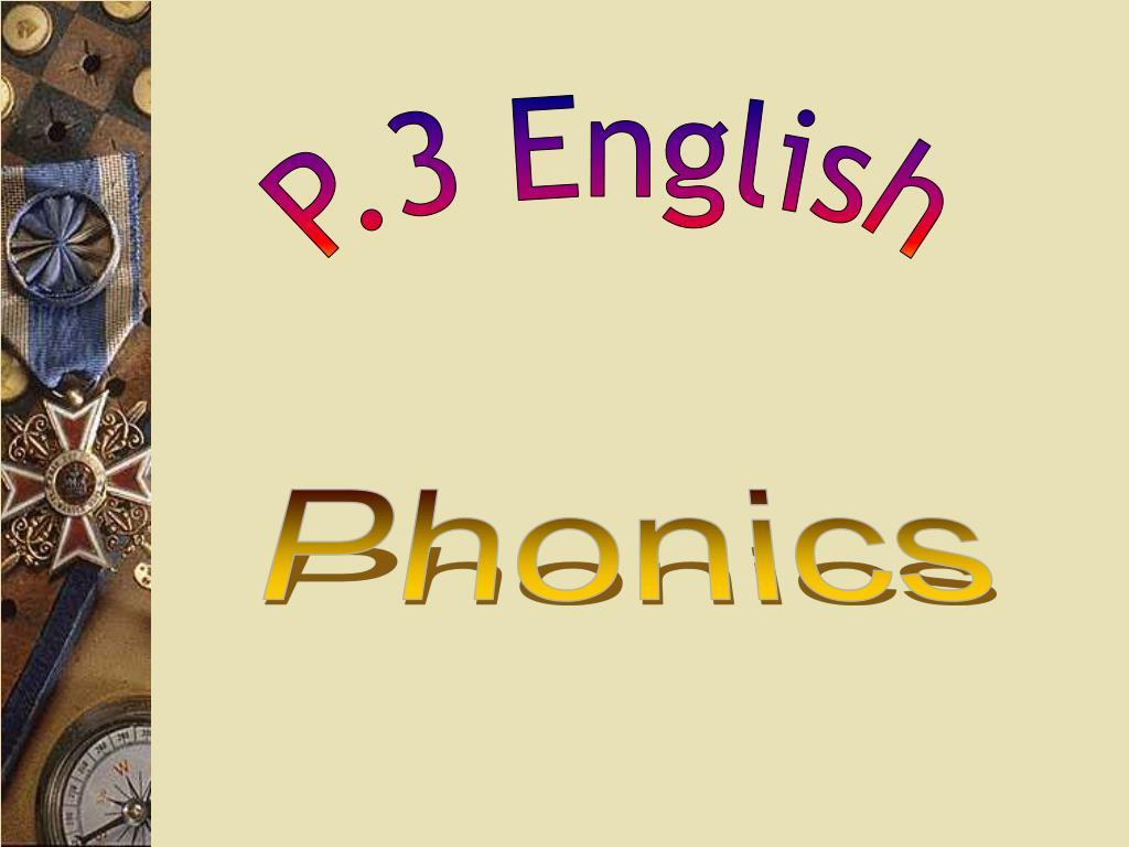 P.3 English