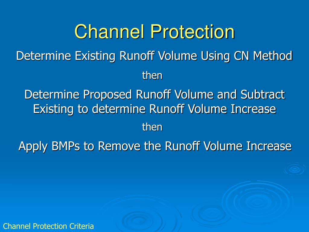 Channel Protection