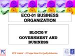 eco 01 business organization115