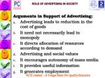 role of advertising in society48