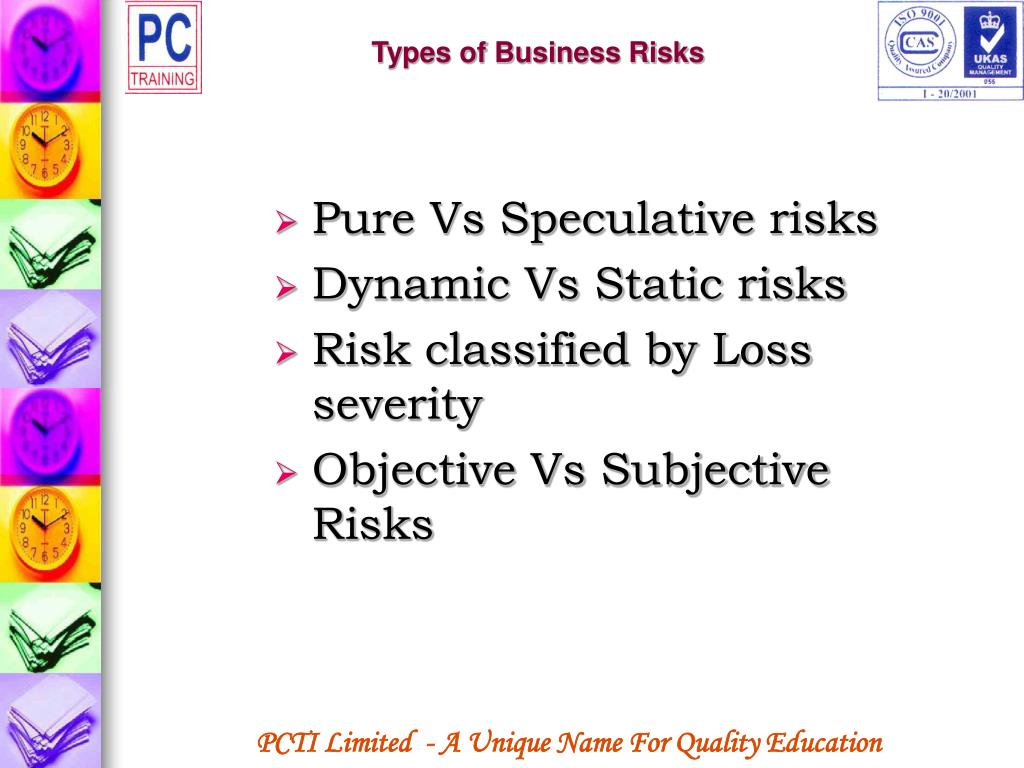 Types of Business Risks