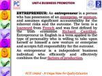 unit 4 business promotion