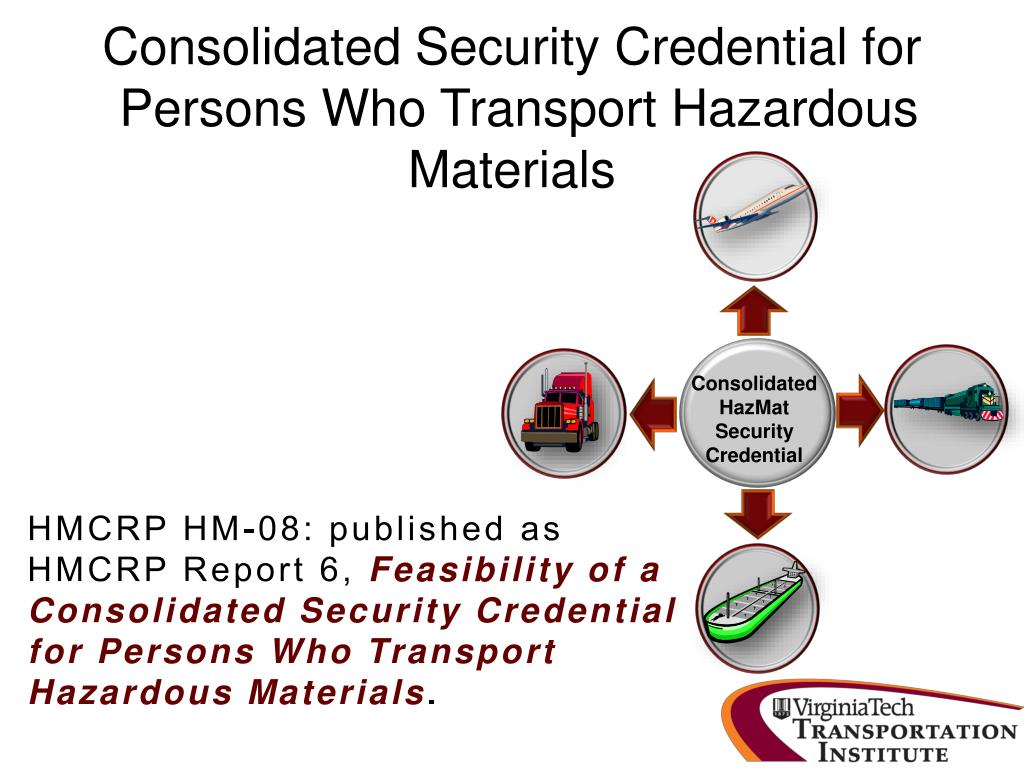 Consolidated Security Credential for