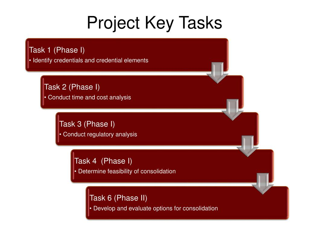Project Key Tasks