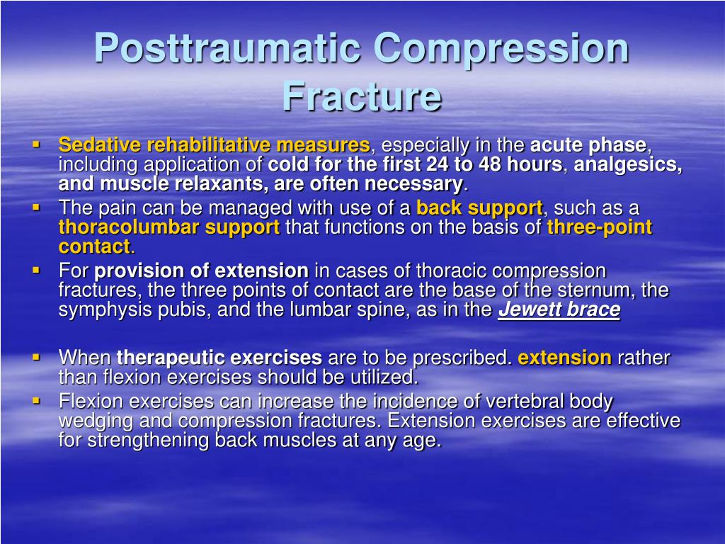 Posttraumatic Compression Fracture