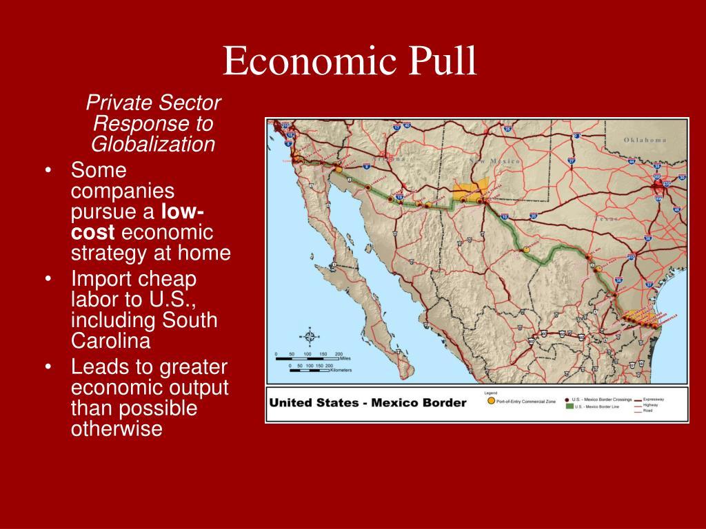 Economic Pull