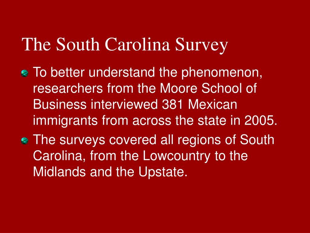 The South Carolina Survey