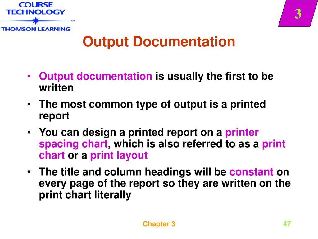 Output Documentation