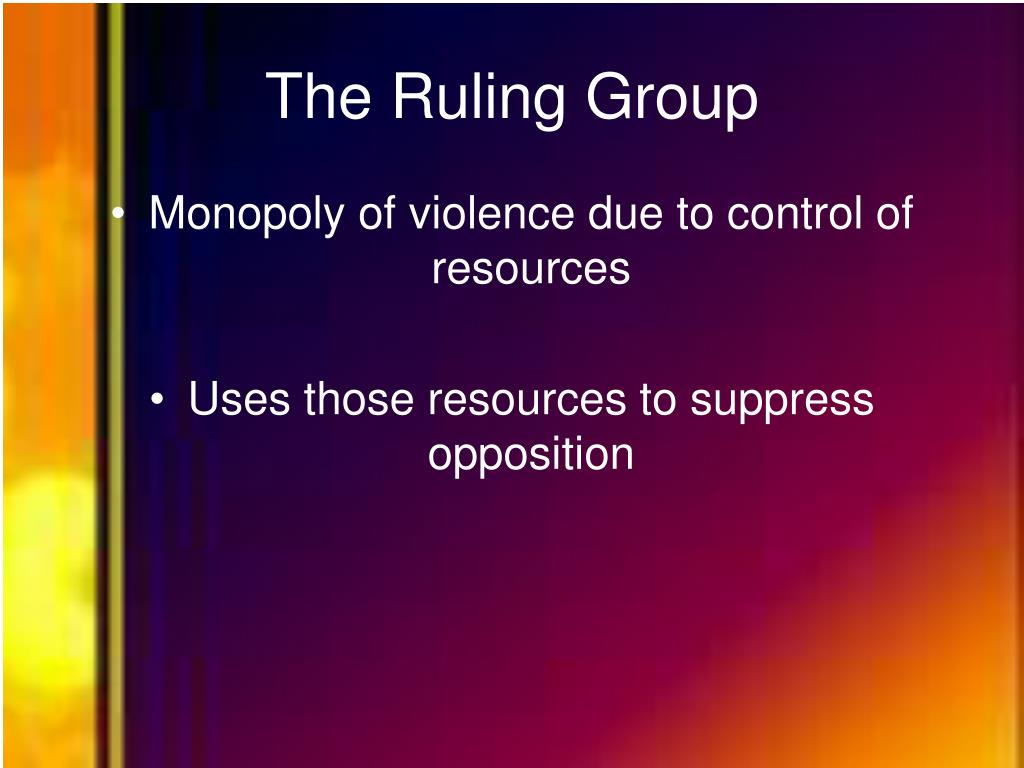 The Ruling Group