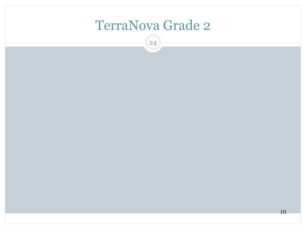 TerraNova Grade 2