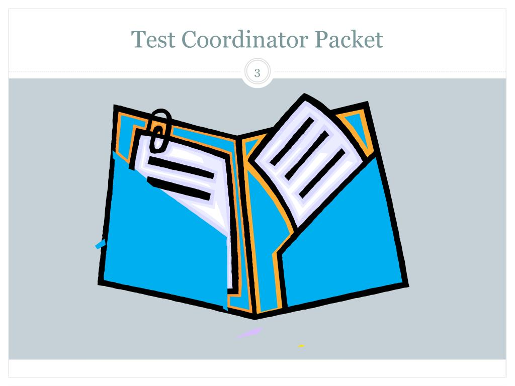 Test Coordinator Packet