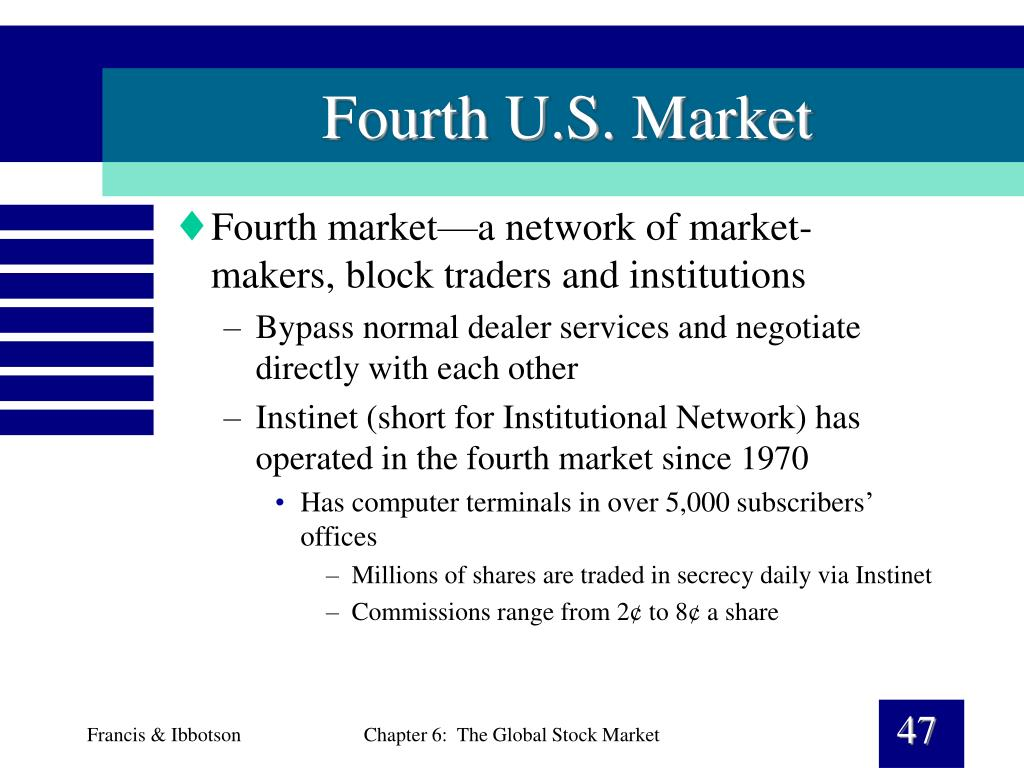 Fourth U.S. Market
