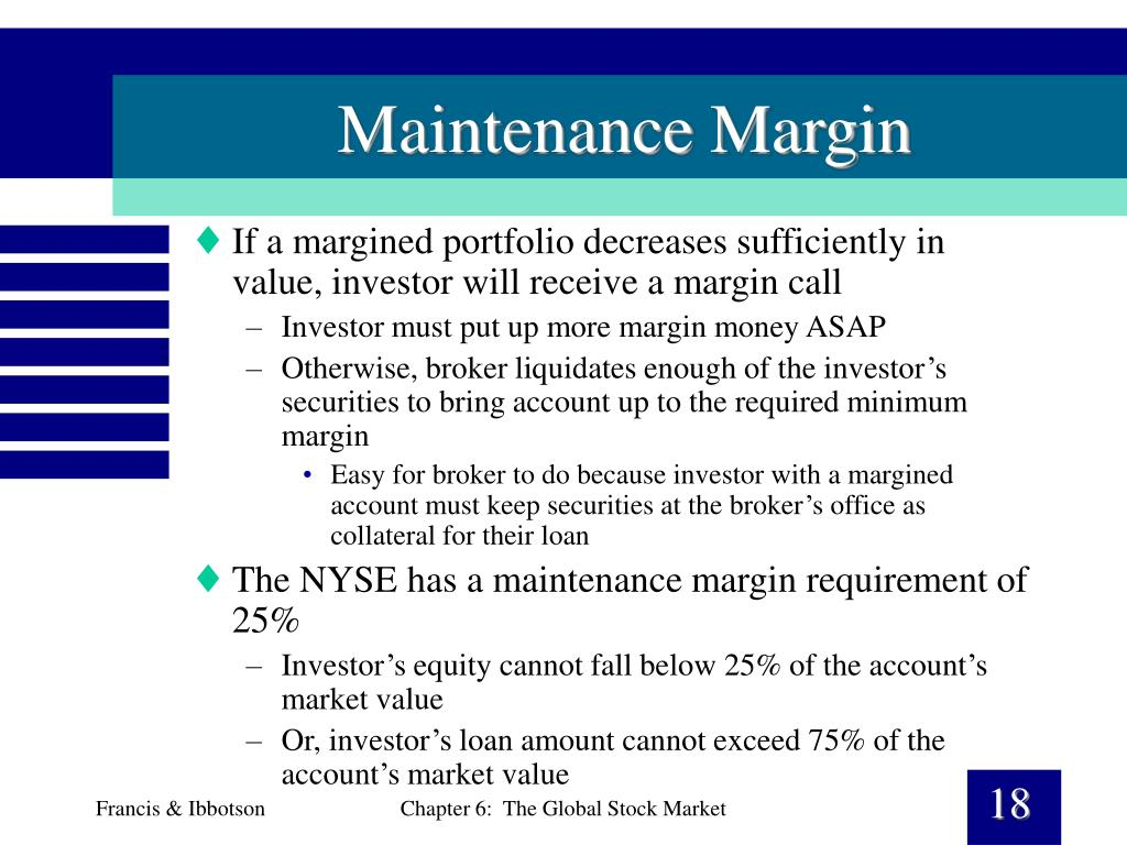 Maintenance Margin