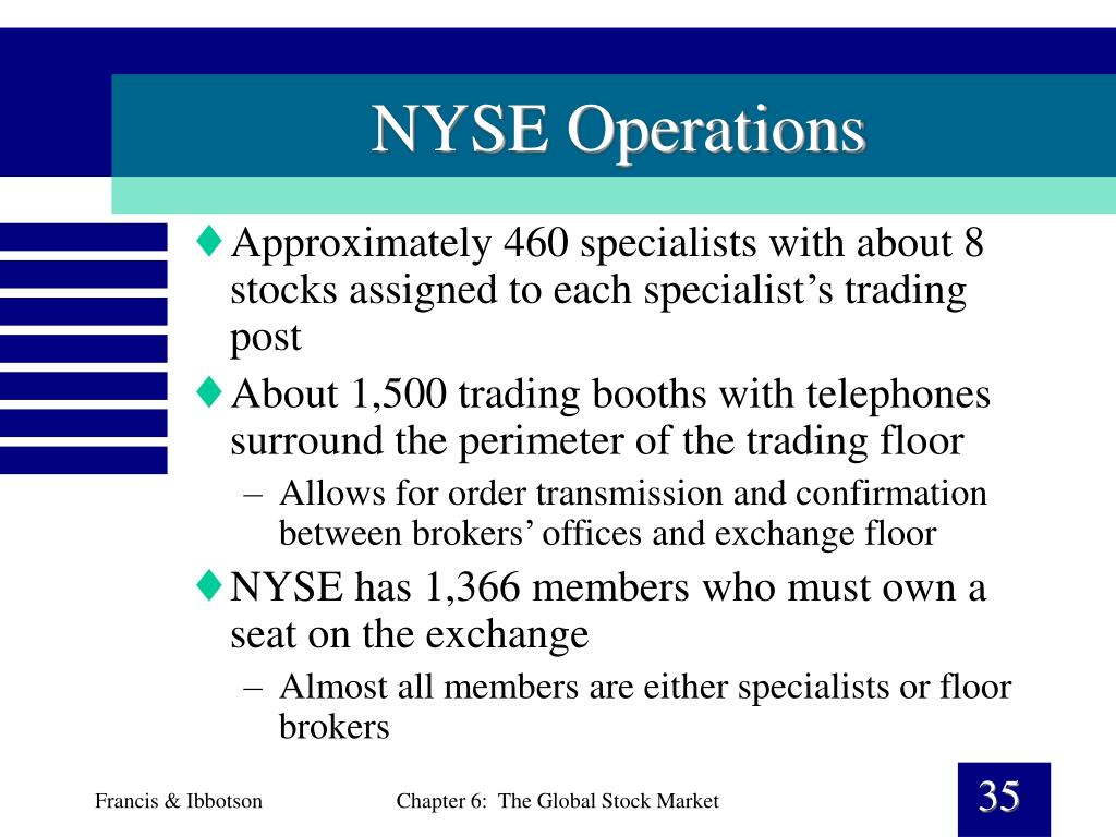 NYSE Operations